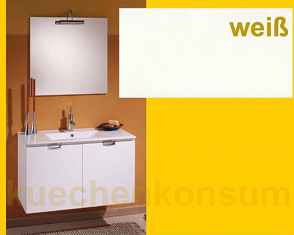 badm bel unterschrank waschbecken spiegel leuchte badezimmer set ebay. Black Bedroom Furniture Sets. Home Design Ideas