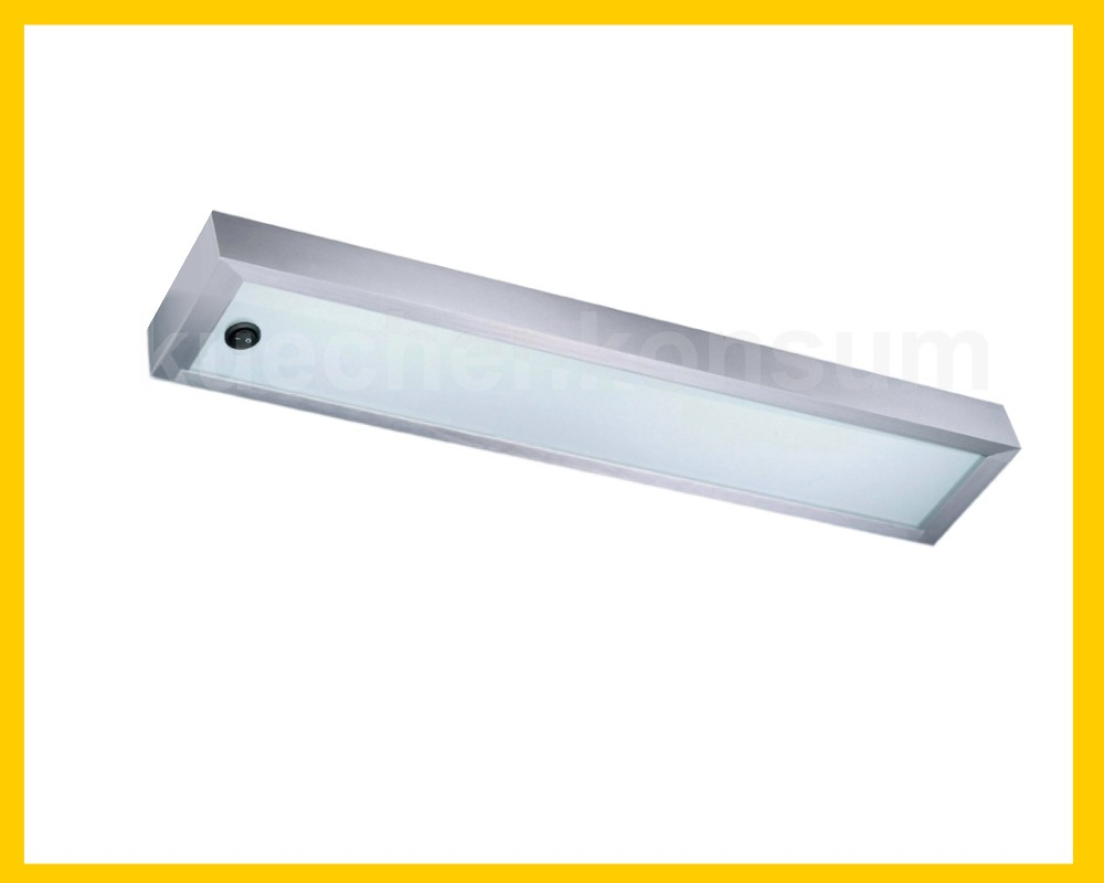 Thebo Glasbodenleuchte 90x12cm Aluminium Glasbodenleuchte