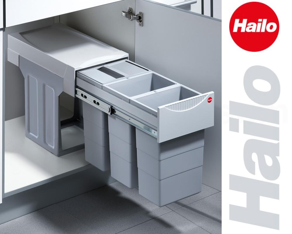 Details zu Hailo Abfallsammler TZ Swing 30.3/30 Terzett Abfalleimer Einbau  Mülleimer 3666-8