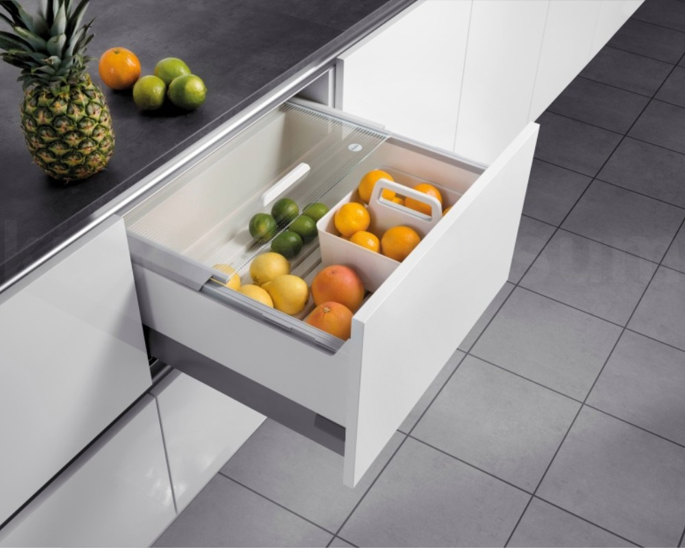 Lebensmittelaufbewahrung  Hailo Pantry-Box Lebensmittel Aufbewahrung Vorratsbox 60 cm ...