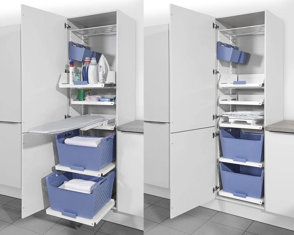 Hailo Wäschekorb Auszug Laundry Area Einbau 60 Wäschesammler Wäschebox System eBay