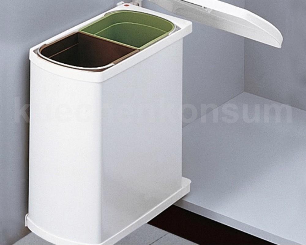 hailo abfallsammler swing 45 2 16 duo 16 l m lleimer einbau abfalleimer 3416 00 ebay. Black Bedroom Furniture Sets. Home Design Ideas