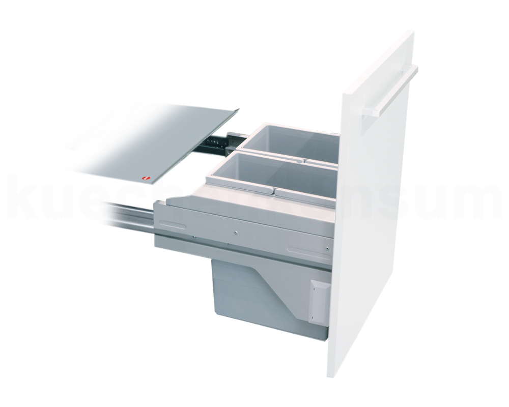 hailo abfallsammler cs slide 45 2 28 cargo soft m lleimer einbau abfalleimer 28l ebay. Black Bedroom Furniture Sets. Home Design Ideas