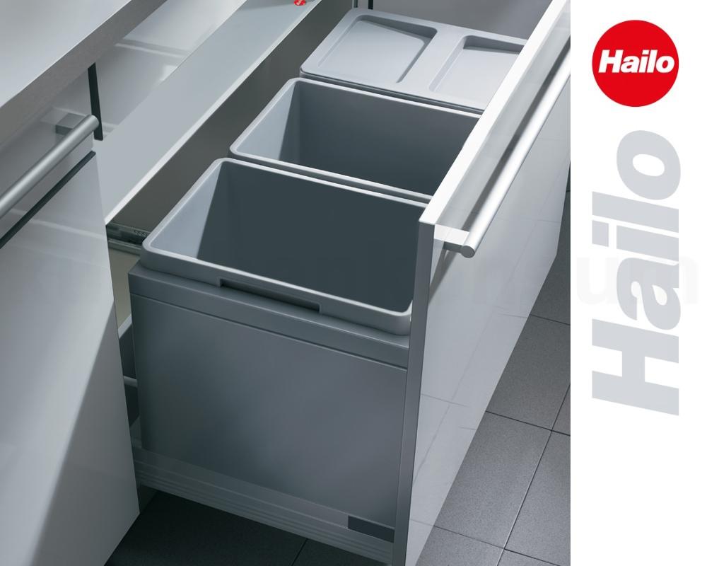 Hailo Abfallsammler XT Triple 3631 901 Einbau Mülltrenner