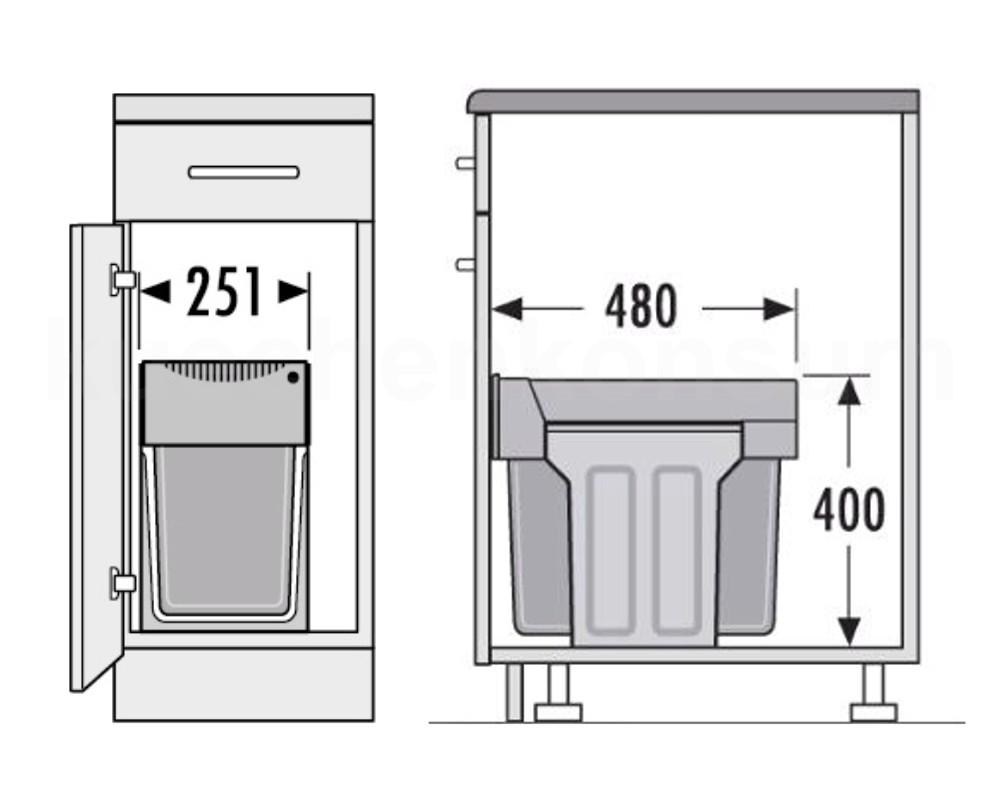 Ausziehbarer Mülleimer war gut stil für ihr haus design ideen