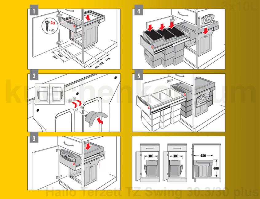Müllbehälter Küche ist genial design für ihr wohnideen