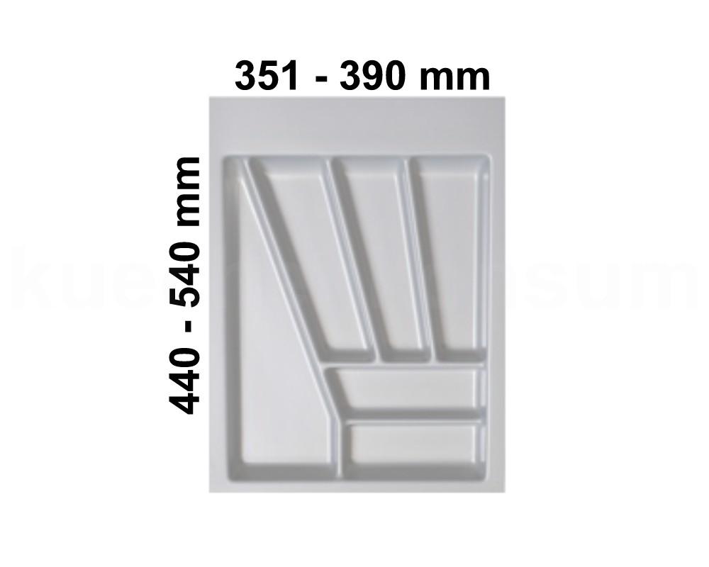 besteckeinsatz silbergrau 45 besteckkasten besteckeinteilung besteckunterteilung ebay. Black Bedroom Furniture Sets. Home Design Ideas