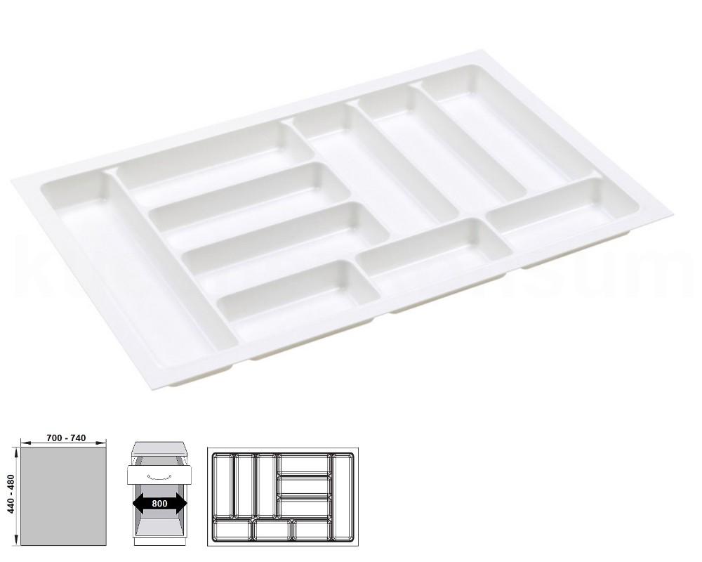 besteckeinsatz 30 120 kunststoff besteckschublade einbau besteckkasten einsatz ebay. Black Bedroom Furniture Sets. Home Design Ideas