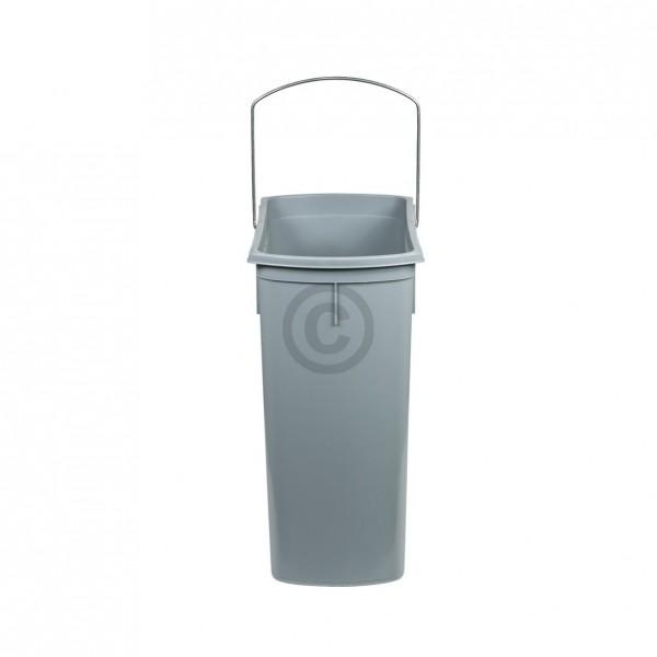 Hailo Inneneimer 343x185x365mm 18 Liter Hailo 1082119 hellgrau für Einbau-Abfallsammlersystem
