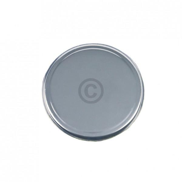Europart Kochplattenabdeckung silbern für 155mm runde Gussplatte Massekochplatte Kochfeld Herd