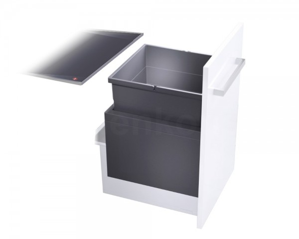 Hailo Abfallsammler 3631481 XL Inset 450 55 Triple-XL 55 Liter