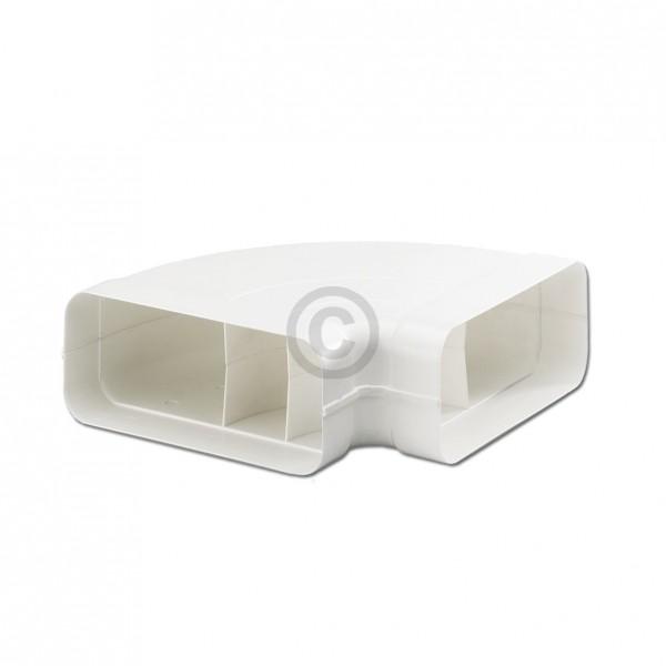Europart Flachkanalbogen 125erSCF Naber 4033011 90° horizontal beidseitig Muffe für 169x77mm Belüftu
