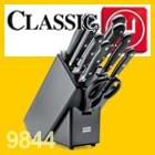 Wüsthof CLASSIC Messerblock Buche Anthrazit mit Teilen 9844