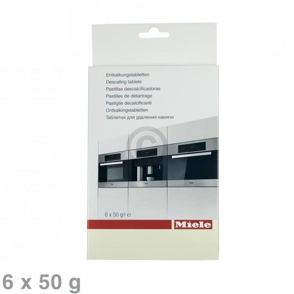 Miele Entkalkungstabletten 10178330 für Kaffeemaschine Dampfgarer Herd 6x50g