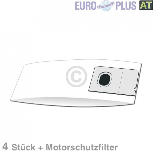 Europart Filterbeutel Europlus P2029 u.a. für Lloyds, Progress 4 Stk