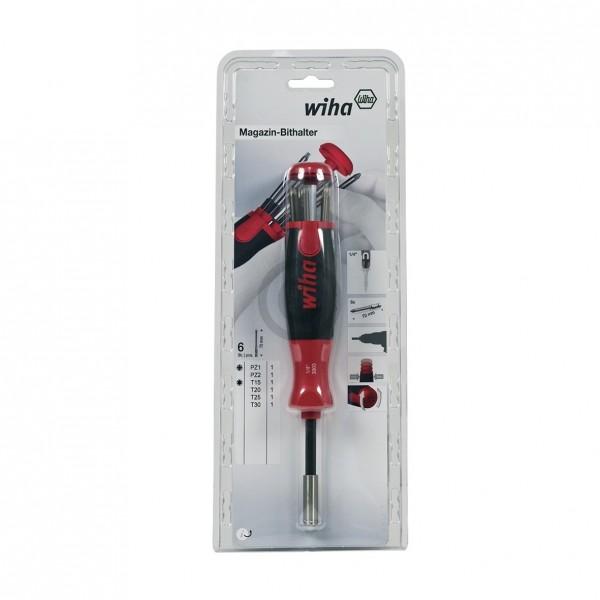 Wiha Bithaltermagazin Wiha 38596 LiftUp 70 SB 3803 01-022 SoftFinish ® 7-teilig