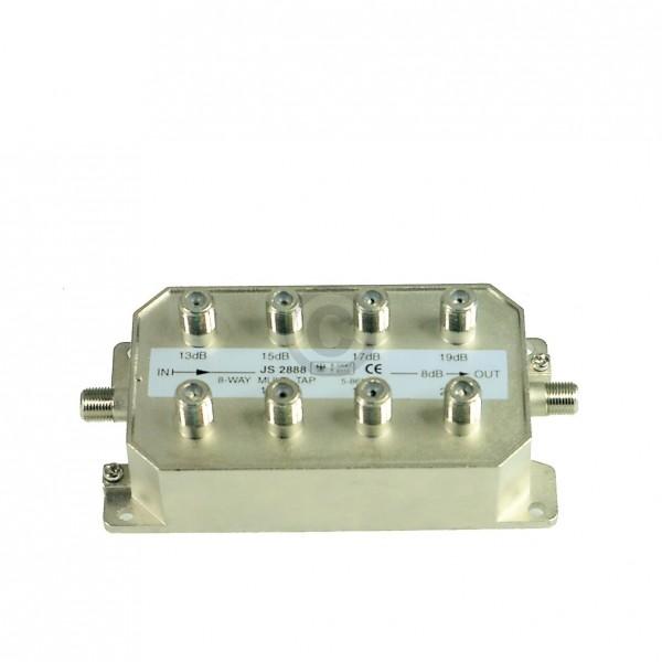 Europart BK-Stichabzweiger 8-fach Televes AZ819F für Kabel-Anlagen