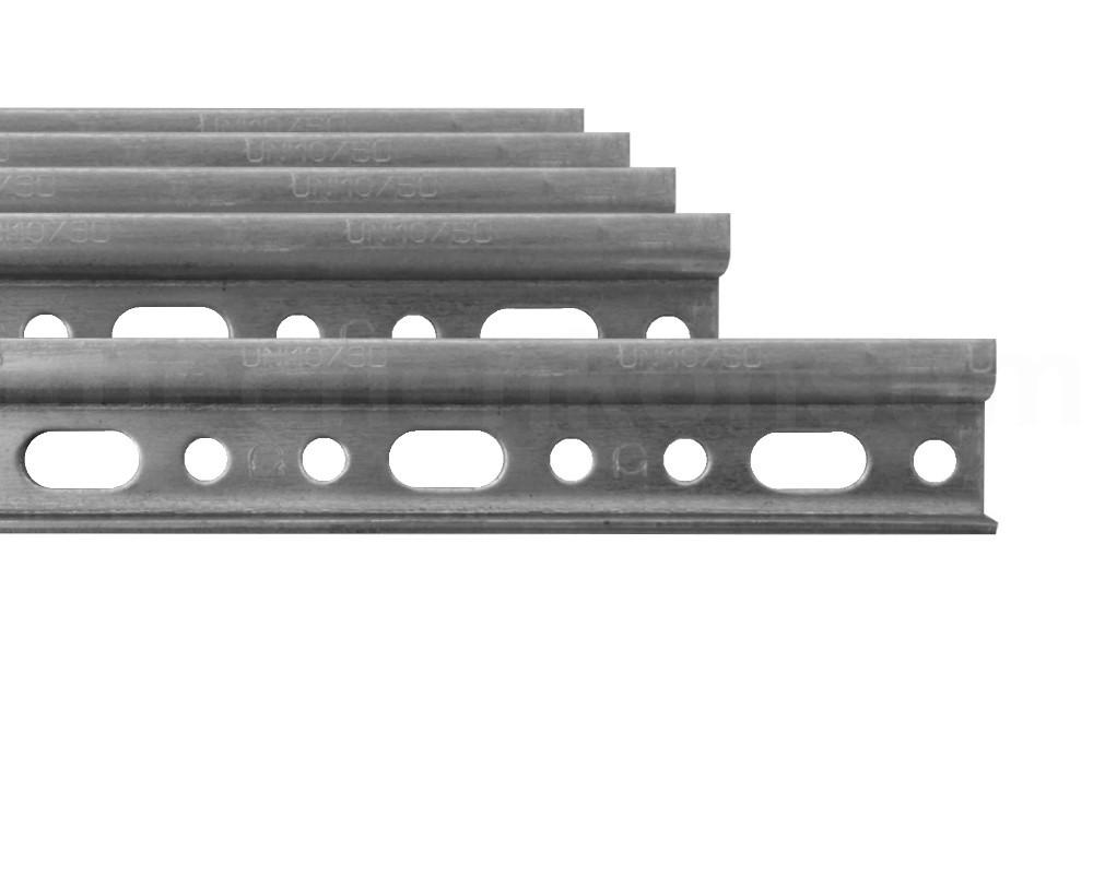 montageschien 5 st ck 118 cm aufh ngeschiene verzinkt mit. Black Bedroom Furniture Sets. Home Design Ideas