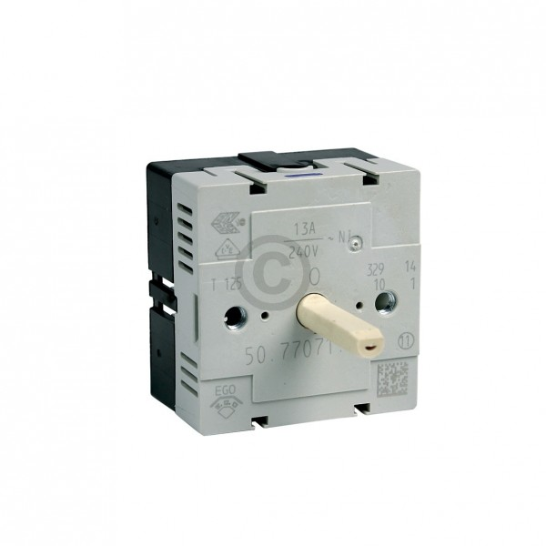 Electrolux Kochplattenschalter Electrolux 389082401/8 EGO 50.77071.000 EINKREIS für Kochfeld Herd