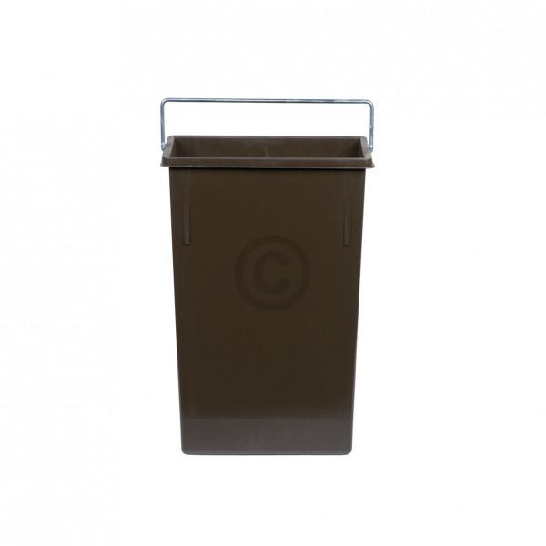 Hailo Inneneimer 226x115x340mm 7 Liter Hailo 1080999 braun für Einbau-Abfallsammlersystem