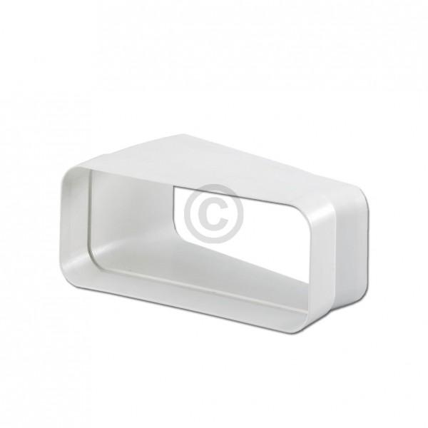 Europart Flachkanalbogen 125erSCF Naber 4033012 15° horizontal einseitige Muffe für 169x77mm Belüftu
