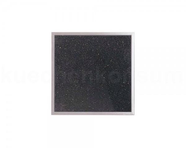 Einbau Granitfeld Galaxy Star inkl. Edelstahlwanne 250 x 250 x 10 mm