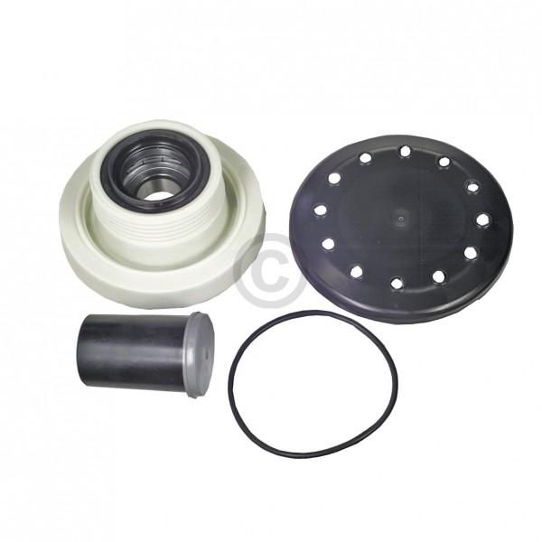 Europart Lagerung Antriebsgegenseite AEG 407130649/4 links für Waschmaschine Toplader