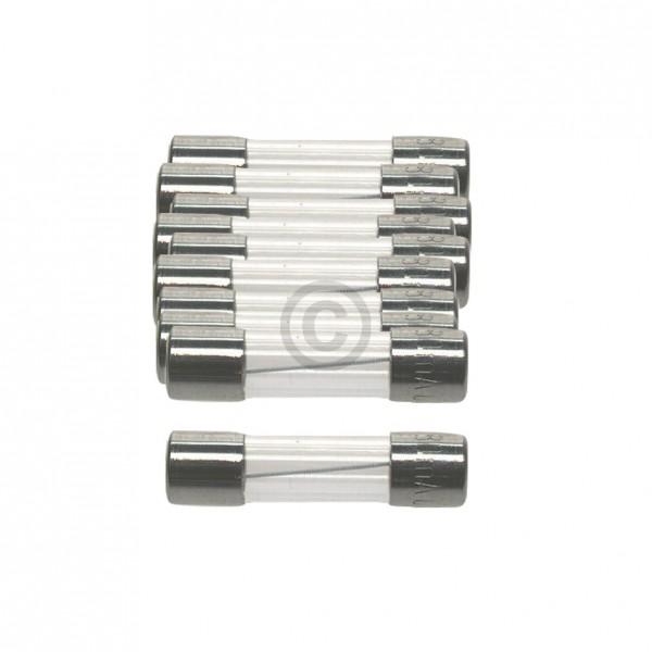Europart DIN-Sicherung 10,0A träge 5x20mm Feinsicherung 10Stk