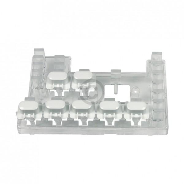 AEG Tastenschaltersatz 112343500/8 mit Lichtleiter u.a. für privileg Trockner