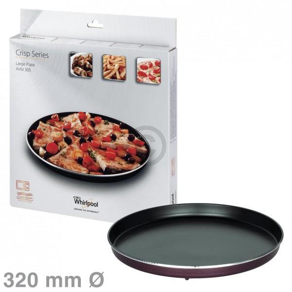 Whirlpool Drehteller Crisp-Platte 320mmgroß, Whirlpool AVM305