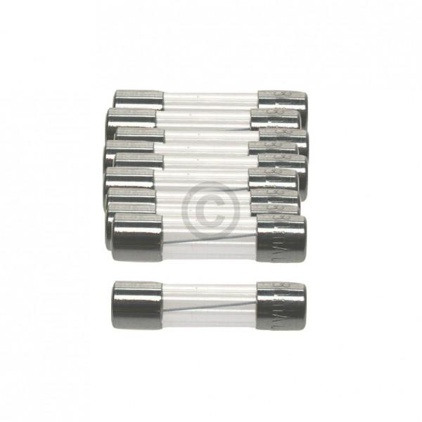 Europart DIN-Sicherung 6,3A träge 5x20mm Feinsicherung 10Stk