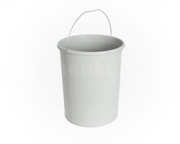 Hailo 15 Liter Inneneimer 1081699 grau weiss 323 x 272 mm mit Henkel