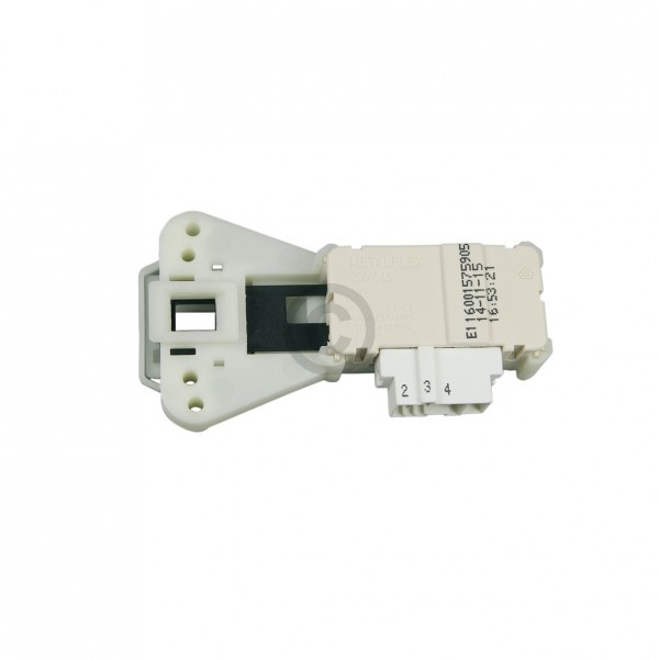Indesit Türverriegelung ARISTON C00085194 Verriegelungsrelais Metalflex ZV-446 für Waschmaschine Was