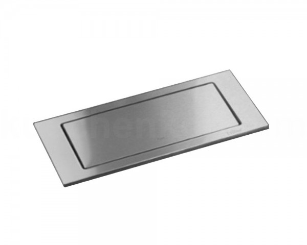 Schulte EVOline BackFlip 10.001 Einbausteckdose 2 fach + USB Charger Edelstahl