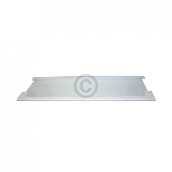 Europart Glasplatte AEG 206463901/2 476x158 mm mit Leisten kurz vorne für Kühlschrankinnenraum