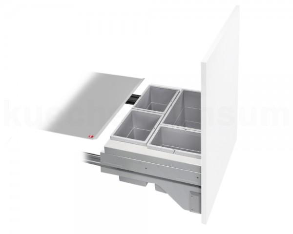 Hailo Abfallsammler 3610691 CS Slide Cargo-Soft 3x 7 + 15 Liter