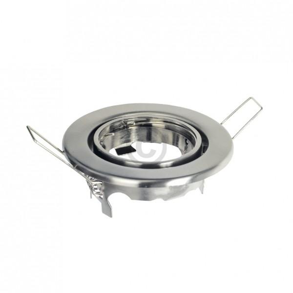 Lampenhalter 89mm Eisen gebürstet Metall-Einbaustrahler schwenkbar Rutec 5505-5