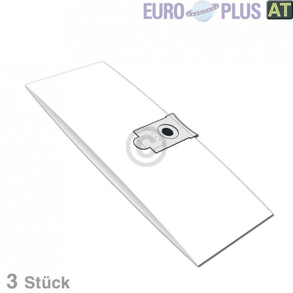 Europart Filterbeutel Europlus VAC30 u.a. für AquaShop, ShopVac 3 Stk