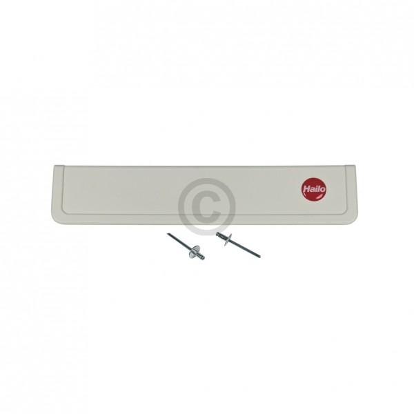 Hailo Griffleiste 248x50x18mm Hailo 1125319 Original weiß für Einbau-Abfallsammlersystem