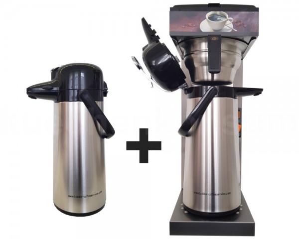 Coffee Queen Typ 494 Kaffeemaschine Business Line incl. 2 Pumpflaschen
