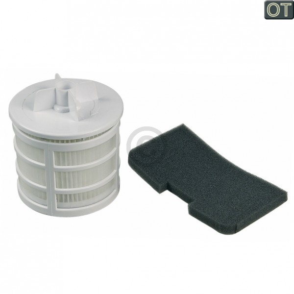 CandyHoover Filter Motorschutzfilter Abluftfilter Hoover 35601328 U66 für Staubsauger