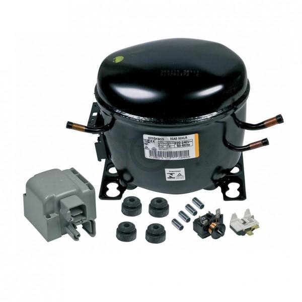Europart Kompressor für R134A 1/3PS embraco EGAS90HLR