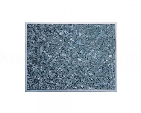 Einbau Granitfeld Blue Pearl inkl. Edelstahlwanne 510 x 325 x 10 mm