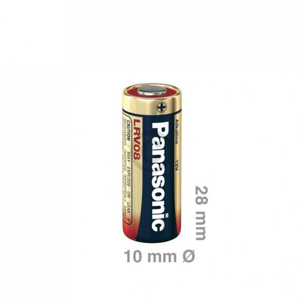 Europart Batterie/Knopfzelle LRV08 Panasonic 12V