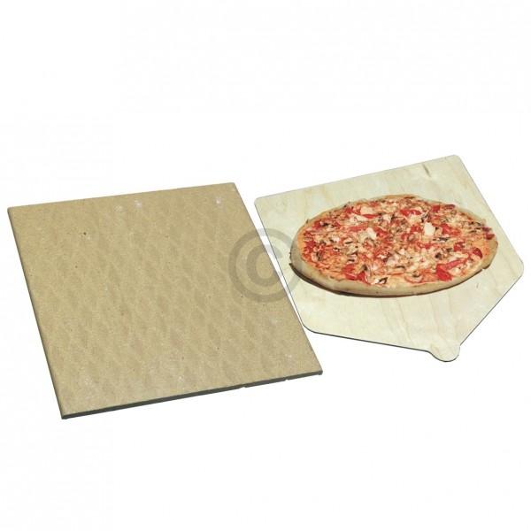Indesit Pizzastein-Set für den Backofen