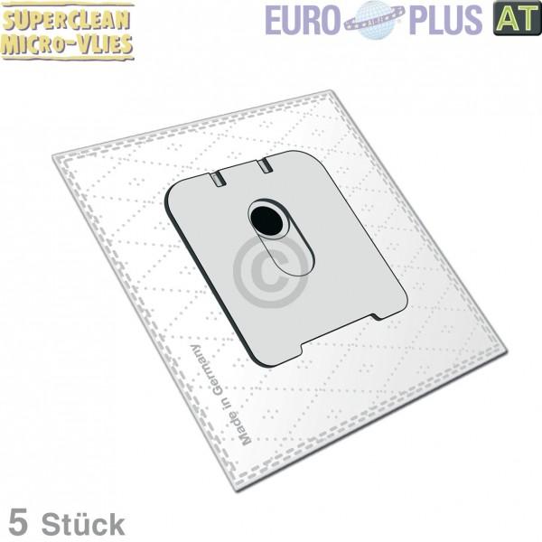 Europart Filterbeutel Europlus R5112 Vlies für Rowenta 5 Stk