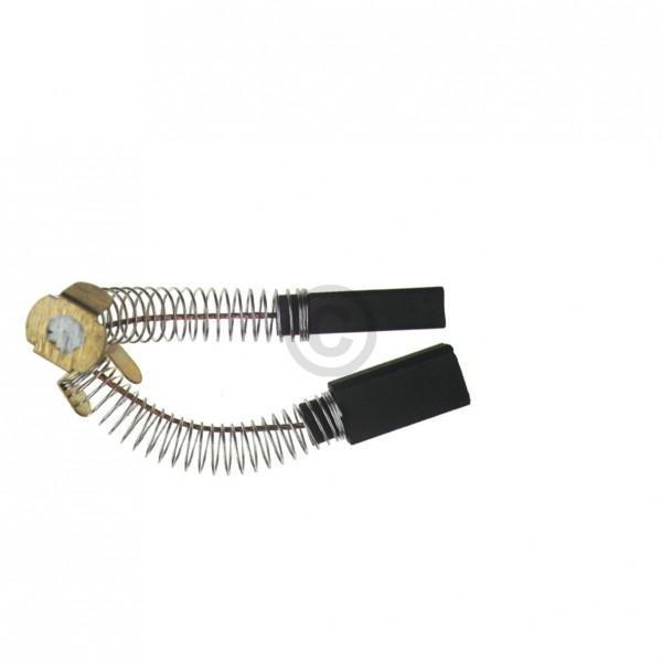 Europart Kohlen 6,4x10x25mm mit Kabel Feder Führungsteller