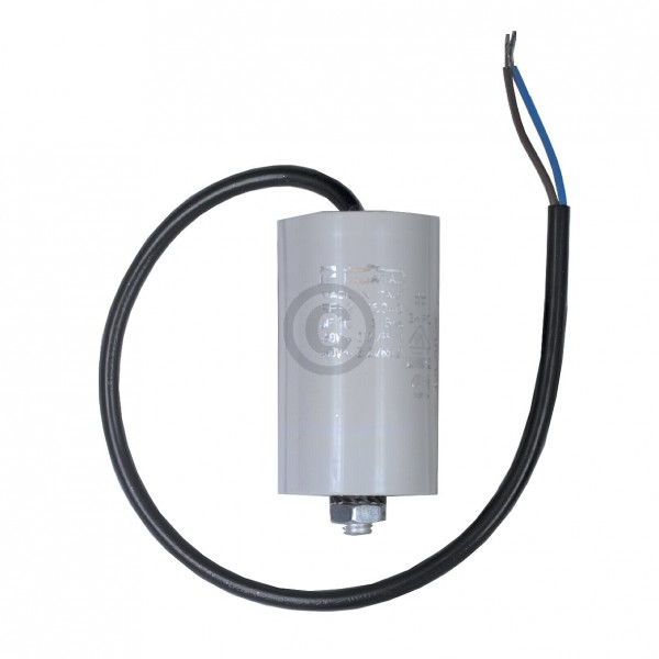 Europart Kondensator 16,00µF 450V Universal mit Anschlusskabel und Befestigungsschraube