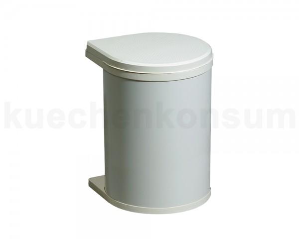 Hailo Abfallsammler 3515051 MO Swing c Mono 15 Liter creme-weiß
