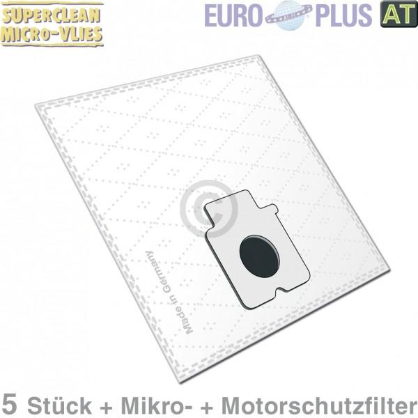 Europart Filterbeutel Europlus PA1701 Vlies u.a. für Panasonic 5 Stk